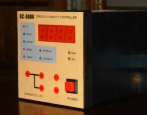 数显比重控制器GC-8000